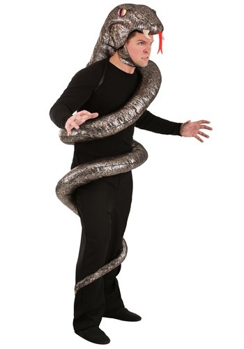 Click Here to buy Slither Snake Costume for Adults from HalloweenCostumes, CDN Funds & Shipping