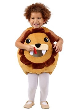 Child Feed Me Lion Costume