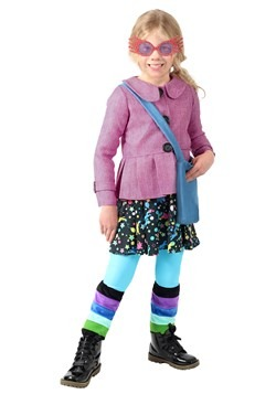 Harry Potter Girls Luna Lovegood Costume