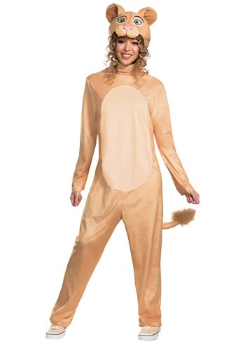 Disney Animated Lion King Nala Jumpsuit Costume for Women
