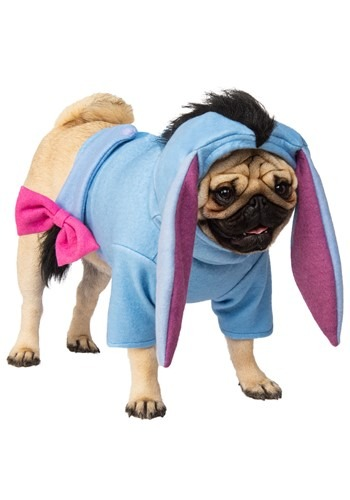 Click Here to buy Eeyore Winnie the Pooh Pet Costume from HalloweenCostumes, CDN Funds & Shipping