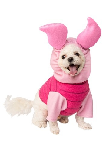Click Here to buy Winnie the Pooh Piglet Pet Costume from HalloweenCostumes, CDN Funds & Shipping