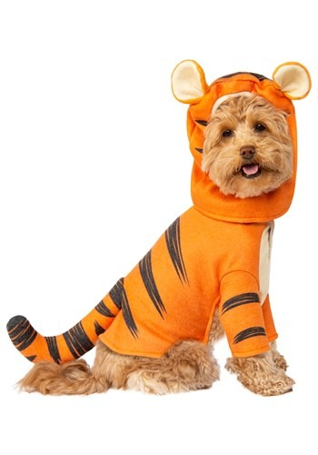 Click Here to buy Tigger Pet Winnie the Pooh Costume from HalloweenCostumes, CDN Funds & Shipping