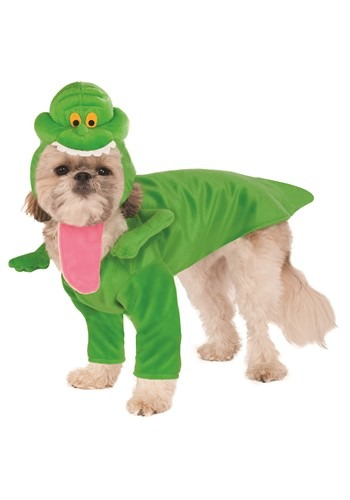 Click Here to buy Ghostbusters Slimer Costume for Pets from HalloweenCostumes, CDN Funds & Shipping