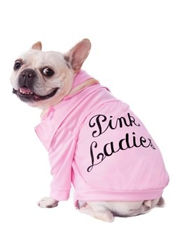 Grease Pink Ladies Jacket Pet Costume
