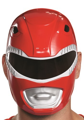 Click Here to buy Adult Power Rangers Red Ranger Mask from HalloweenCostumes, CDN Funds & Shipping