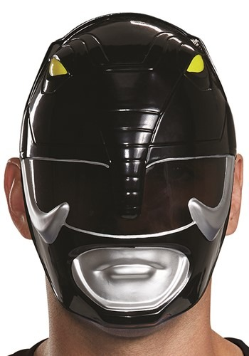 Power Rangers Adult Black Ranger Mask