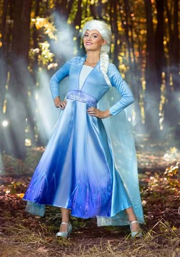 Click Here to buy Deluxe Frozen 2 Elsa Womens Costume from HalloweenCostumes, CDN Funds & Shipping