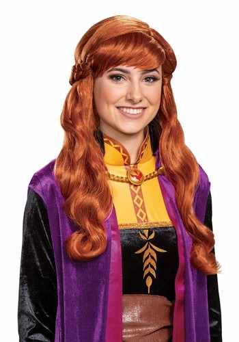 Click Here to buy Adult Frozen 2 Anna Wig from HalloweenCostumes, CDN Funds & Shipping