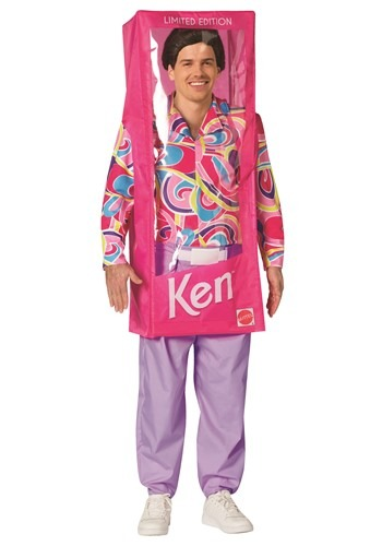 Click Here to buy Barbie Adult Ken Box Costume from HalloweenCostumes, CDN Funds & Shipping