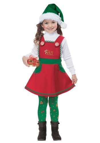 Elf in Charge Toddler Costume