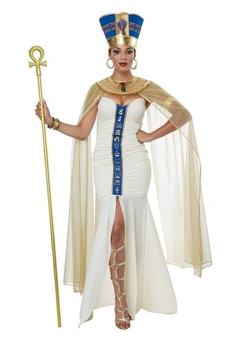 Click Here to buy Queen of Egypt Womens Costume from HalloweenCostumes, CDN Funds & Shipping