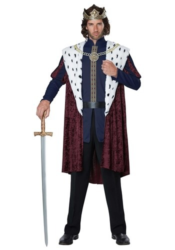 Mens Royal King Outfit