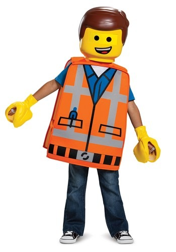 Click Here to buy Lego Movie 2 Emmet Basic Costume for Toddlers from HalloweenCostumes, CDN Funds & Shipping