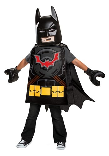 Click Here to buy Basic Lego Movie 2 Toddler Batman Costume from HalloweenCostumes, CDN Funds & Shipping