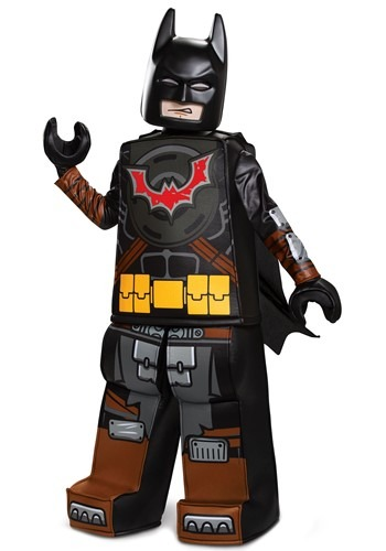 Click Here to buy Kids Lego Movie 2 Batman Prestige Costume from HalloweenCostumes, CDN Funds & Shipping