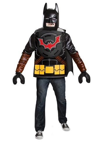Click Here to buy Lego Movie 2 Adult Batman Classic Costume from HalloweenCostumes, CDN Funds & Shipping