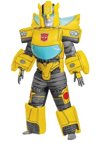 Transformers Kids Bumblebee Inflatable Yellow Costume