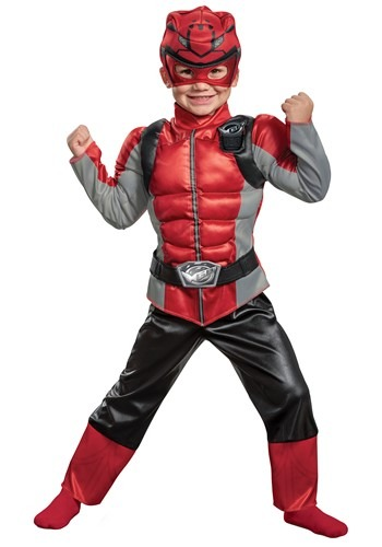 Power Rangers Beast Morphers Little Kids Red Ranger Costume