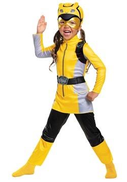 Classic Power Rangers Beast Morphers Yellow Ranger Costume