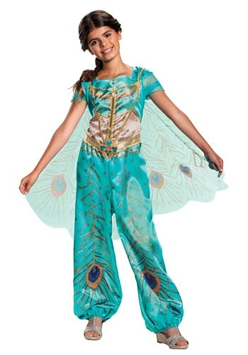The Aladdin Live Action Girls Jasmine Classic Costume