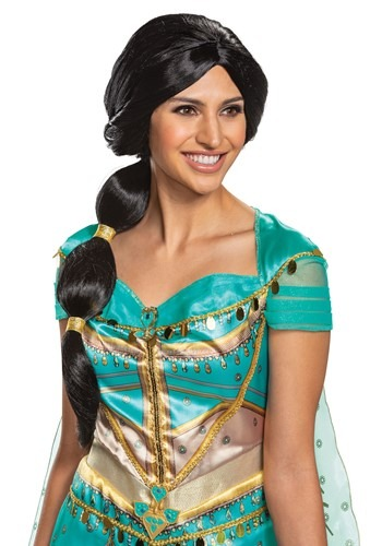 Click Here to buy Adult Aladdin Live Action Jasmine Wig from HalloweenCostumes, CDN Funds & Shipping