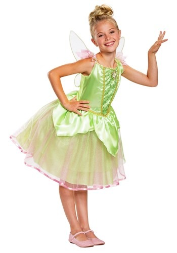 Peter Pan Girls Cute Tinker Bell Costume