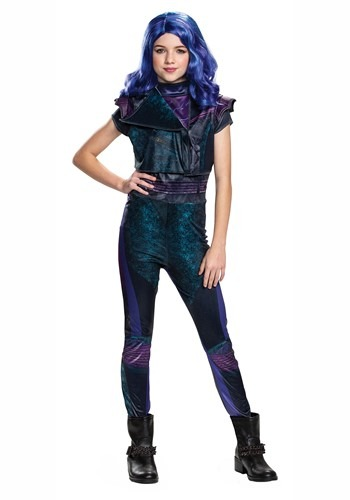 Disney Descendants 3 Mal Classic Costume for Girls