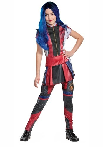 Click Here to buy Descendants 3 Evie Classic Girls Costume from HalloweenCostumes, CDN Funds & Shipping