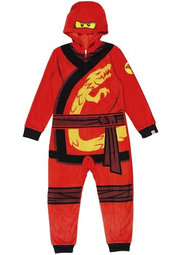 Click Here to buy Kai Kids Union Suit Ninjago from HalloweenCostumes, CDN Funds & Shipping