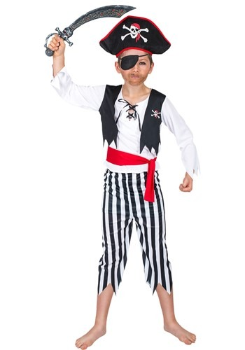 Click Here to buy Buccaneer Pirate Boys Costume from HalloweenCostumes, CDN Funds & Shipping