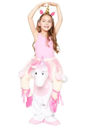 Unicorn Ride Along Girls Costume