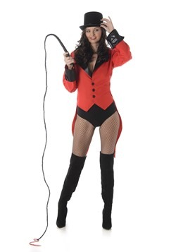 Women's Red Ringmaster Sexy Costume