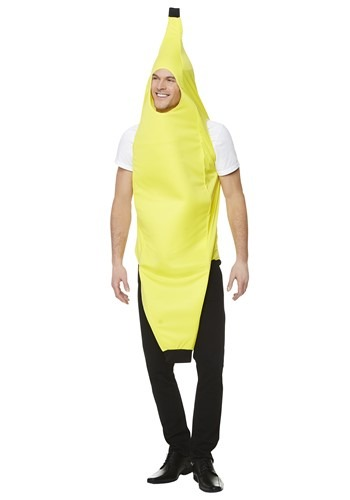 Click Here to buy An Adult Banana Costume from HalloweenCostumes, CDN Funds & Shipping