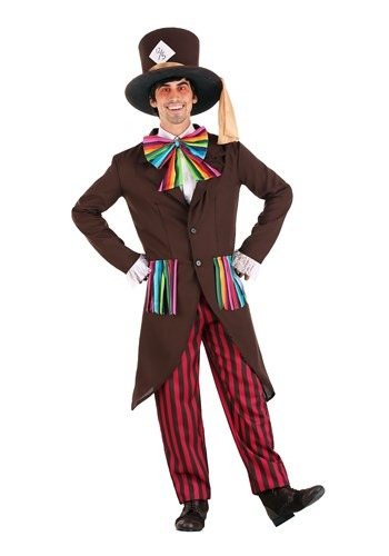 Alice in Wonderland Mens Mad Hatter Costume