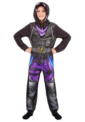 Fortnite Raven Bird Union Suit Costume for Boys