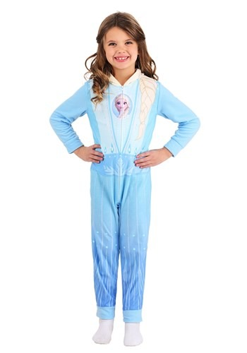 Click Here to buy Frozen Girls Elsa Union Suit from HalloweenCostumes, CDN Funds & Shipping