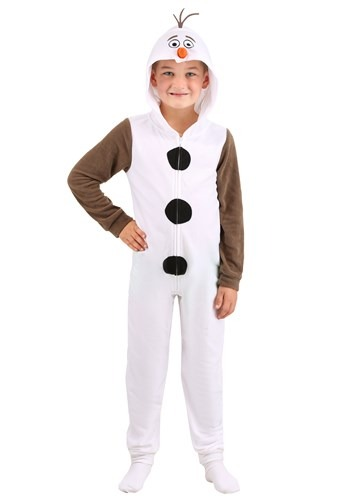 Click Here to buy Frozen Boys Olaf Union Suit from HalloweenCostumes, CDN Funds & Shipping