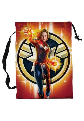 Captain Marvel Pillowcase Treat Bag