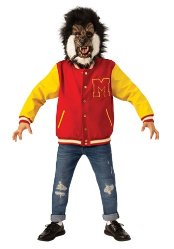 Click Here to buy Michael Jackson Thriller Video Werewolf Deluxe Kids Costume from HalloweenCostumes, CDN Funds & Shipping