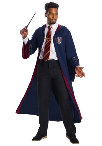 Click Here to buy Fantastic Beasts Vintage Gryffindor Deluxe Adult Robe Costume from HalloweenCostumes, CDN Funds & Shipping
