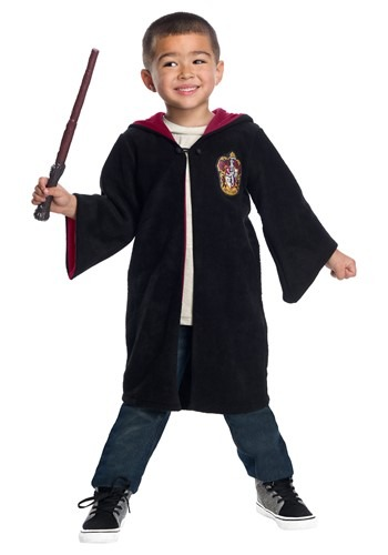 Click Here to buy Harry Potter Gryffindor Toddler Cute Robe Costume from HalloweenCostumes, CDN Funds & Shipping
