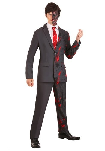Harvey Dent Two Face Suit for Men