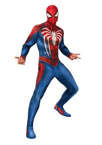 Click Here to buy The Spider-Man Gamer Verse Adult Costume from HalloweenCostumes, CDN Funds & Shipping