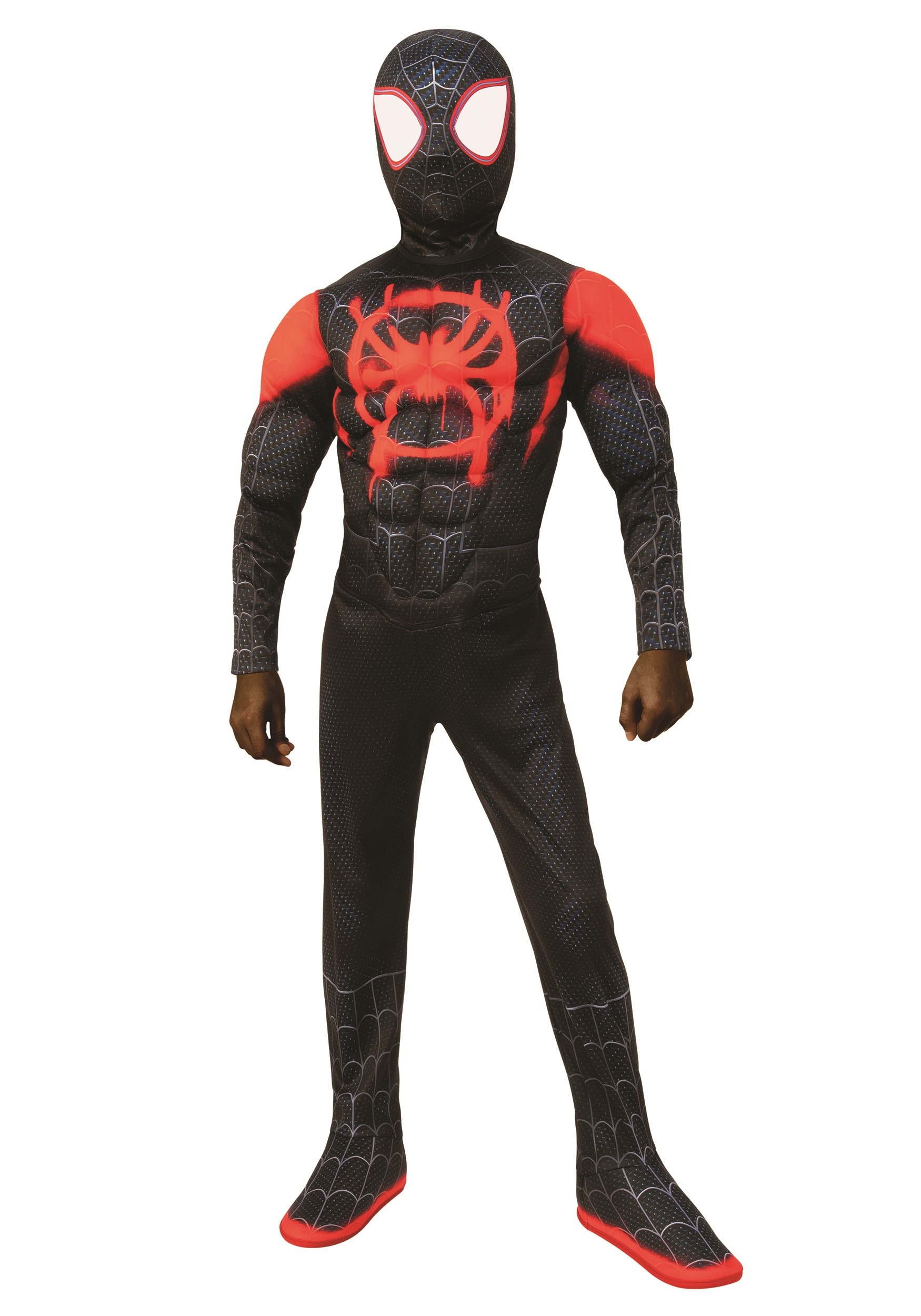 The Spider Man Miles Morales Deluxe Child Costume