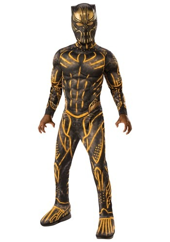 The Black Panther Killmonger Battle Suit Deluxe Child