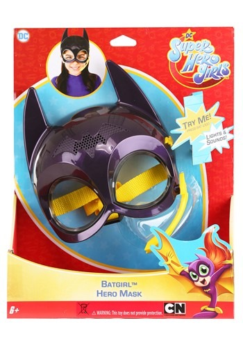 Click Here to buy DC Super Hero Girls Roleplay Batgirl Mask from HalloweenCostumes, CDN Funds & Shipping