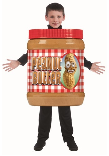 Peanut Butter Jar Costume for Children