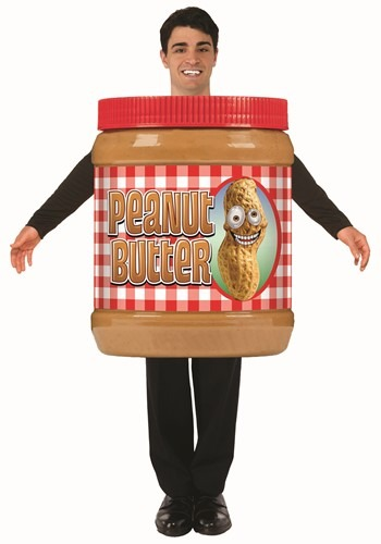 Peanut Butter Jar Costume For Adults