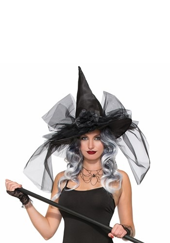 Click Here to buy Witch Hat Deluxe from HalloweenCostumes, CDN Funds & Shipping